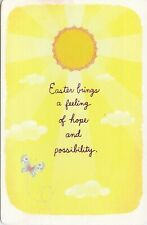 American Greetings Easter Card: Your Future Is Blessed With His Light & Love