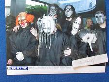 "Original Press Photo - 8""x6"" - SLIPKNOT - 2003 - B"