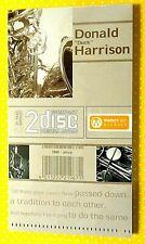 """DONALD """"DUCK"""" HARRISON  -  MODERN JAZZ ARCHIVE - 2 CD+BOOKLET NUOVO E SIGILLATO"""