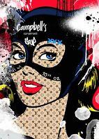 MISAKO Street Art œuvre originale signée Numérotée Pop Art