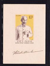 N.VIETNAM 1960 SC # 129 HO CHI MINH ,70TH ANNIV. BIRTHDAY S/S  MNH  .