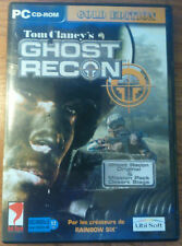 Ghost Recon Gold  - Pc Game - Ubisoft - bonus mission CD - Version Française