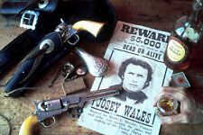 Clint Eastwood Outlaw Josey Wales Poster With Guns 11x17 Mini Poster