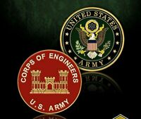 "1.75"" ARMY CORPS OF ENGINEERS CHALLENGE COIN"