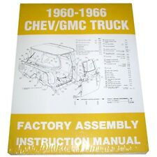 1960 1961 1962 1963 1964 1965 1966 Factory Assembly Manual Chevy GMC Truck 60-66