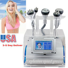 5 in 1 Cavitation Vacuum Bipolar RF body Slimming Fat Wrinkle Removal Machine US