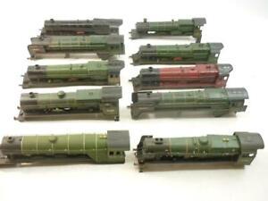 10 x 00 gauge LOCOMOTIVE BODIES - HORNBY etc,  spare or repair,                h