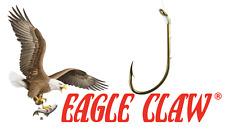 🎣Eagle Claw #139 Snelled Baitholder Fish Hooks 5X 6-pack (30 hooks) Choose Size
