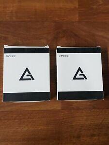 2 Pack Antec RGB 120mm Computer Case Fans