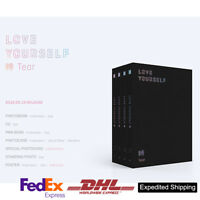 BTS LOVE YOURSELF 轉 Tear 3rd Album 4SET Ver CD+Photobook+Etc Expedited shipping