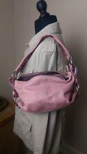 pink bag leather Luis Esteve hand bag
