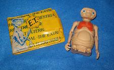 Vintage E.T. The Extra Terrestrial Wallet & Poseable Figure Lot 1982 ET 1980s