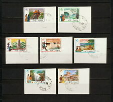 (YYAZ 683) Vietnam 1988 IMPERF NH Mich 1906 -12 Scott 1841 -47 Landscape