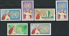 Togo - Papst Paul VI. bei der UNO Satz postfrisch 1966 Mi. 494-499