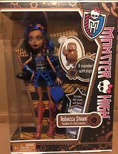 Monster High Robecca Steam (1st Wave) With pet Captain Penny NIB Doll