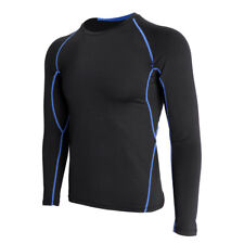 Men's Athletic Compression Sport Running Long Sleeve T Shirt Quick Dry Tops
