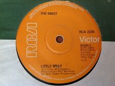 THE SWEET - 1972 Vinyl 45rpm 7-Single - LITTLE WILLY