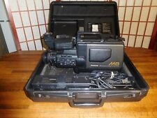 Panasonic VHS Movie Maker NV-M8 in case with adapters
