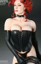 BLACK QUEEN SIDE SHOW COMIQUETTE STATUE RARE LOOP ��SHIPS WORLDWIDE��