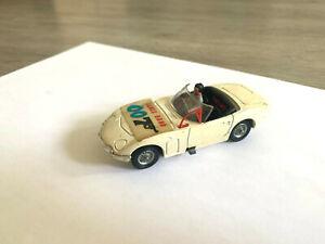 corgi toys - Rare voiture james bond  toyota 2000 gt