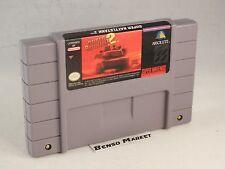 SUPER BATTLETANK 2 BATTLE TANK II NINTENDO SNES NES NTSC USA AMERICANO ORIGINALE