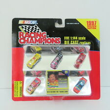 5 VINTAGE 1997 PREVIEW EDITION RACING CHAMPIONS 1:144 SCALE, DIE CAST, NEW