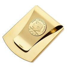 Storus Smart Money Clip, Trump 2020 Election Edition, Gold with Gold Medal Coin