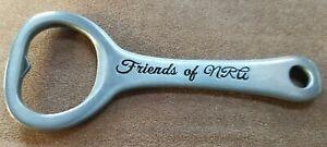 Vintage FRIENDS OF NRA Metal Beer Soda Bottle Opener