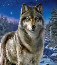 New Clementoni Night Watch 500 Piece Wolf Jigsaw Puzzle