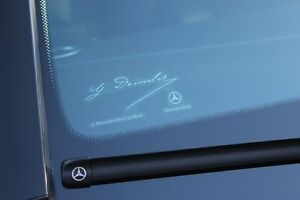 Mercedes-Benz Daimler Signed Sticker Genuine