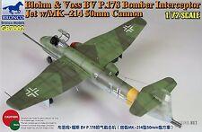 BRONCO GB7002 1/72 Blohm & Voss BV P.178 Bomber Interceptor Jet w/MK-214 Cannon