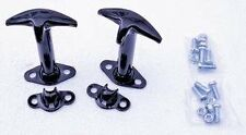 Hood Latch Set black for 1942-1995 Jeep Cj & Wrangler 7601