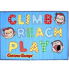 """Curious George Carpet Accent Mat Area Rug 39""""x58"""" - Climb Riach Play"""