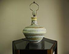 Mid Century Modern Danish Abstract Ceramic Design Retro Table Lamp Eames Era
