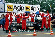 Elio de Angelis Lotus San Marino GP 1985 fotografía 1