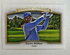 2017 UD Goodwin Champions Base #95 Tiger Woods - Golf