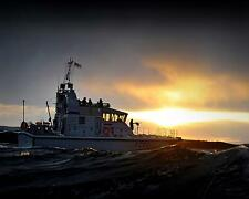 "Royal Navy P2000 HMS Dasher Fast Patrol Boat Esc HMS Clyde 10x8"" Reprint Photo"