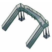 HORNBY R076 Footbridge Kit Twin Tracks