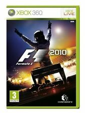 XBOX 360-F1 2010 (FORMULA ONE) ** NOUVEAU & Sealed ** En Stock au Royaume-Uni