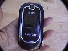 at&t samsung cell phone untested black sgh a237