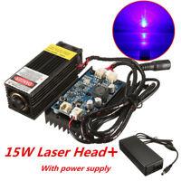 15W Laser Head Engraving Module w/ TTL For Metal Marking Wood Cutting Engraver