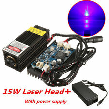 15W Laser Head Engraving Module w/ TTL For Metal Marking Wood Cutting Engraver