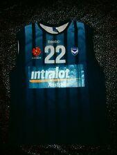 VTG REEBOK Melbourne Victory Club FC League Soccer Jersey Sports TANK Top Mens M