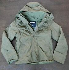 New Abercombie & Fitch Mens Green Nylon Hooded All Season Jacket Coat Size XL