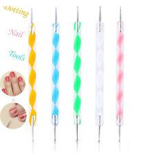 Kit de 5 Outils Dotting Tools Manucure et Nail Art Dotting Pen et Nail Paint