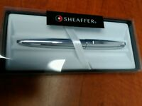 Sheaffer 500 CHROME Ballpoint Pen 100% Authentic