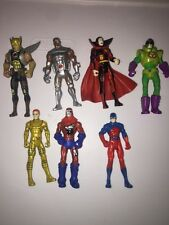 "Dc Comic Universe 3.75"" Figure Lot Superman Batman Flash #6"