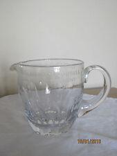 Gran Jarra De Agua/Limonada De Cristal Tallado