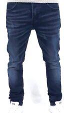 Jeans uomo Pantaloni uomo slim fit skinny 5 tasche blu denim 42 44 46 48 50 52
