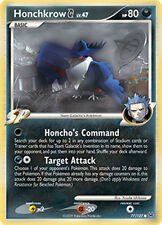 Honchkrow G Common Pokemon Card Pt1 Platinum 77/127
